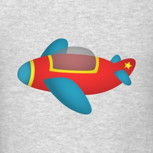 cute and colourful jet plane for kids Sweatshirts - Men's T-Shirt