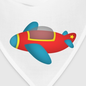 cute and colourful jet plane for kids Sweatshirts - Bandana