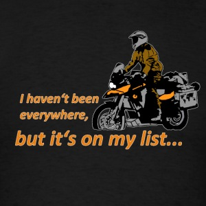 Dualsport - it's on my list 1 / Longsleeve LADIES - Men's T-Shirt