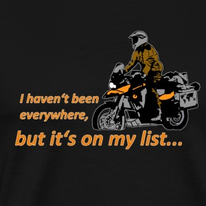 Dualsport - it's on my list 1 / Longsleeve LADIES - Men's Premium T-Shirt