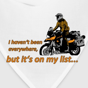 Dualsport - it's on my list 1 / Shirt LADIES - Bandana
