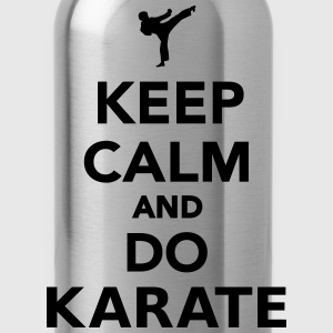 Keep calm and do Karate T-Shirts - Water Bottle
