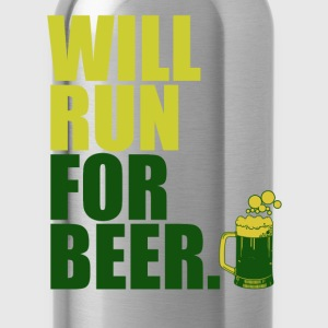 will_run_for_beer T-Shirts - Water Bottle