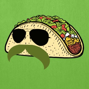 mustache_taco T-Shirts - Tote Bag