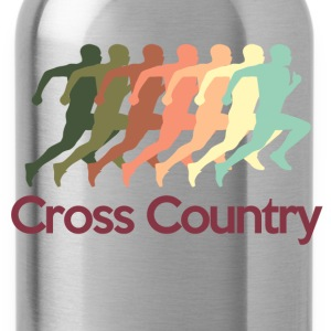 cross_country T-Shirts - Water Bottle