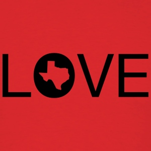 Texas Love Hoodies - Men's T-Shirt
