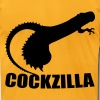cockzilla T-Shirts - Men's T-Shirt by American Apparel