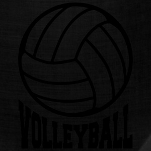 Volleyball unicolor Women's T-Shirts - Bandana