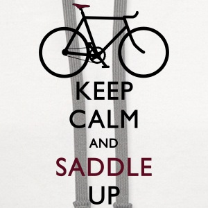 Keep Calm and Saddle Up iphone case - Contrast Hoodie