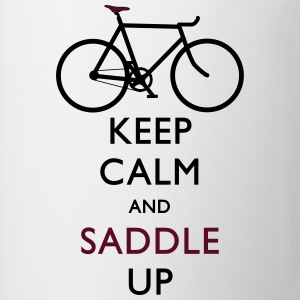 Keep Calm and Saddle Up iphone case - Coffee/Tea Mug