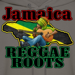 jamaica reggae roots T-Shirts - Men's Hoodie
