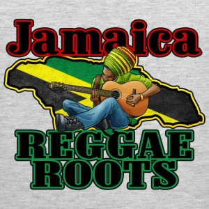 jamaica reggae roots Women's T-Shirts - Men's Premium Tank