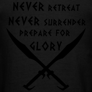 Prepare for Glory-Spartan Warrior - Men's T-Shirt