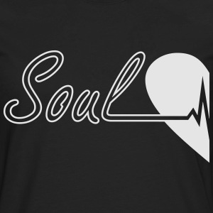 Soulmate Left couple - Men's Premium Long Sleeve T-Shirt