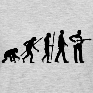 evolution_akustik_gitarre_spieler_122013 T-Shirts - Men's Premium Long Sleeve T-Shirt