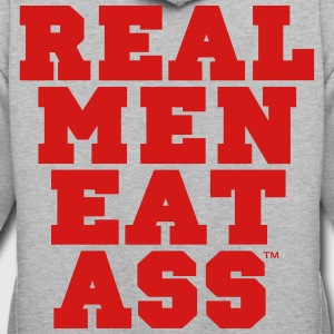 REAL MEN EAT ASS T-Shirts - Contrast Hoodie