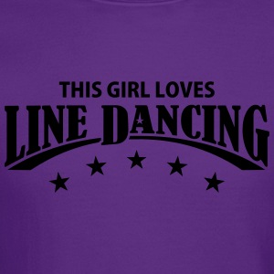 THIS GIRL LOVES LINE DANCING Kids' Shirts - Crewneck Sweatshirt