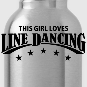 THIS GIRL LOVES LINE DANCING Kids' Shirts - Water Bottle