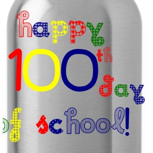 Happy 100th Day T-Shirts - Water Bottle