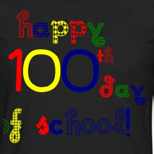 Happy 100th Day T-Shirts - Men's Premium Long Sleeve T-Shirt