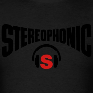 stereo headphones - Men's T-Shirt
