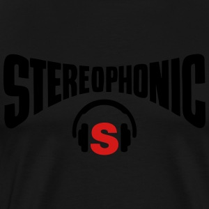stereo headphones - Men's Premium T-Shirt