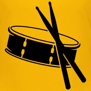 A drum and sticks Kids' Shirts - Toddler Premium T-Shirt