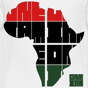 ONE IAM - AFRICA Kids' Shirts - Toddler Premium T-Shirt