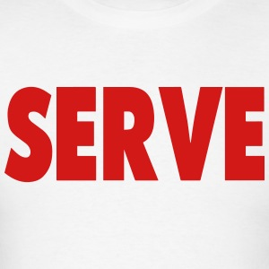 SERVE Hoodies - Men's T-Shirt