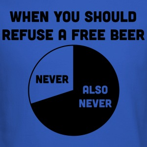 When you should refuse a free beer T-Shirts - Crewneck Sweatshirt