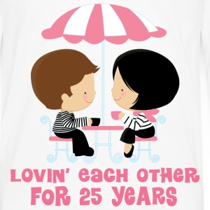 25th Anniversary French Couple Women's T-Shirts - Men's Premium Long Sleeve T-Shirt