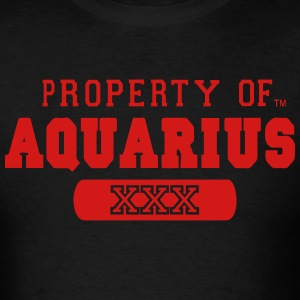 PROPERTY OF AQUARIUS Hoodies - Men's T-Shirt