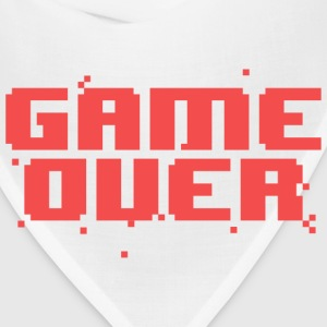 Game Over Pixel Text Long Sleeve Shirts - Bandana