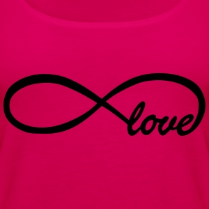 Endless love Kids' Shirts - Women's Premium Tank Top