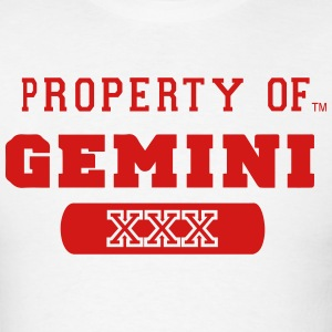 PROPERTY OF GEMINI - Men's T-Shirt