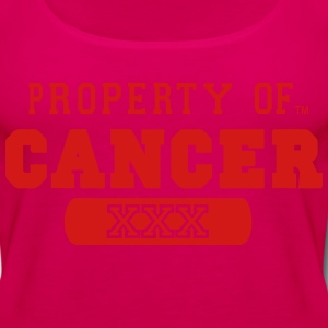 PROPERTY OF CANCER - Women's Premium Tank Top