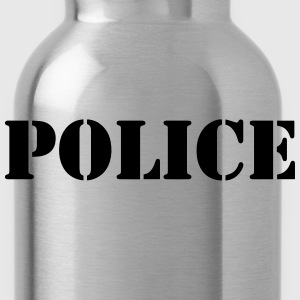 Police Shirt - Water Bottle