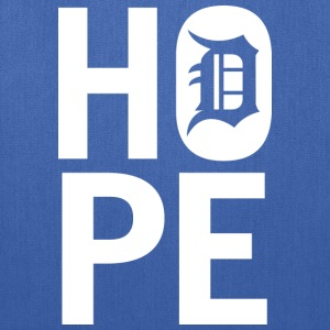 HOPE IN DETROIT Long Sleeve Shirts - Tote Bag