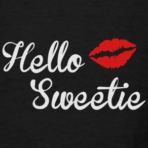 Hello Sweetie Duffel Bag - Men's T-Shirt