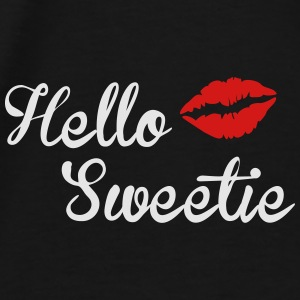 Hello Sweetie Duffel Bag - Men's Premium T-Shirt