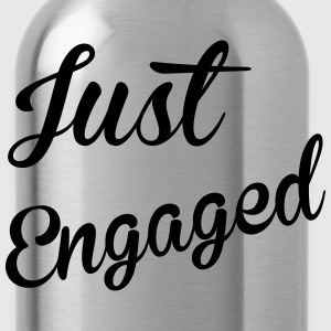 Just Engaged Women's T-Shirts - Water Bottle