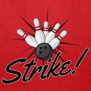 Bowling Strike T-Shirts - Tote Bag