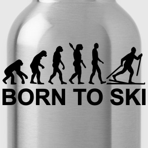 Evolution Cross-country skiing T-Shirts - Water Bottle