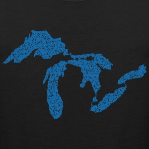 The Great Lakes Long Sleeve Shirts - Men's Premium Tank