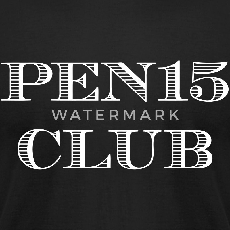 Pen15 Club T-Shirts - Men's T-Shirt by American Apparel