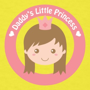 daddy's cute little princess Baby & Toddler Shirts - Men's T-Shirt