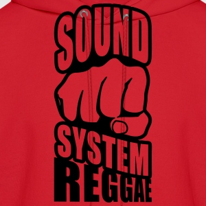 sound system reggae Women's T-Shirts - Men's Hoodie