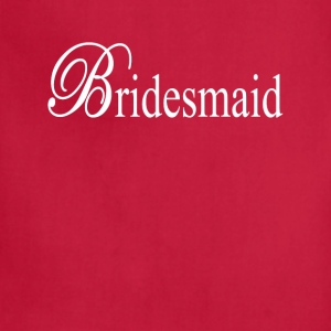 Bridesmaid Tanks - Adjustable Apron