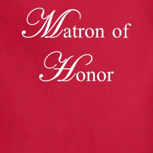 Matron of Honor Women's T-Shirts - Adjustable Apron