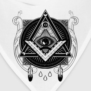 All Seeing Eye Illustration - Bandana
